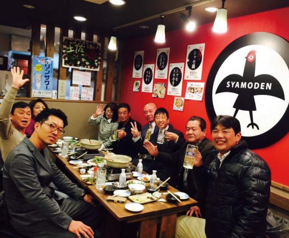 ごめんケンカシャモ:直営店「軍鶏伝 -SYAMODEN-」